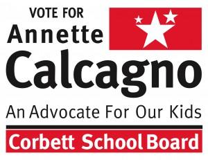 Annette Calcagno for CSD School Board